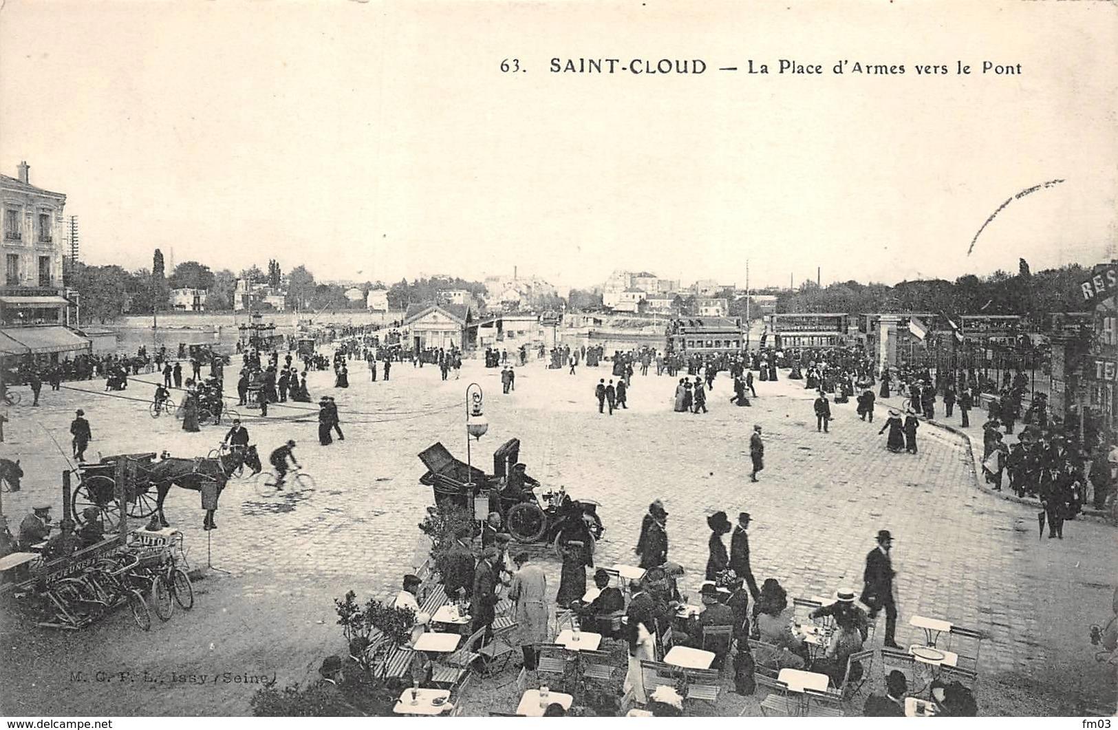 Saint Cloud MCFL 63 Tramway - Saint Cloud