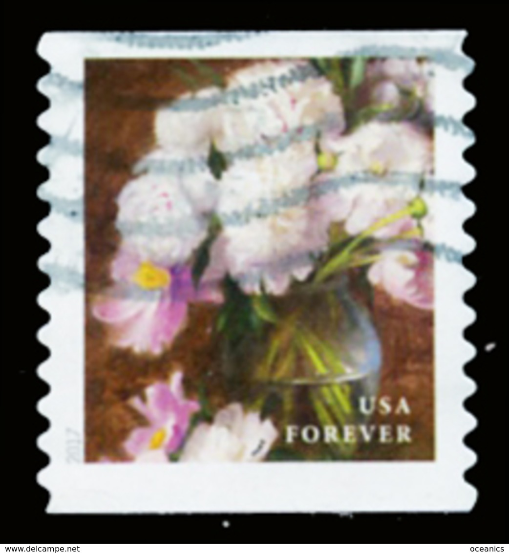 Etats-Unis / United States (Scott No.5234 - Flower From The Garden) (o) Coil - Verenigde Staten
