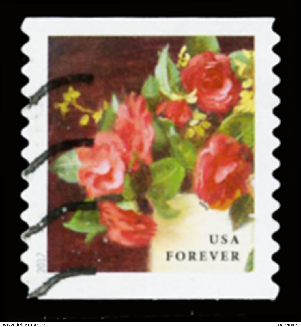 Etats-Unis / United States (Scott No.5233 - Flower From The Garden) (o) Coil - United States