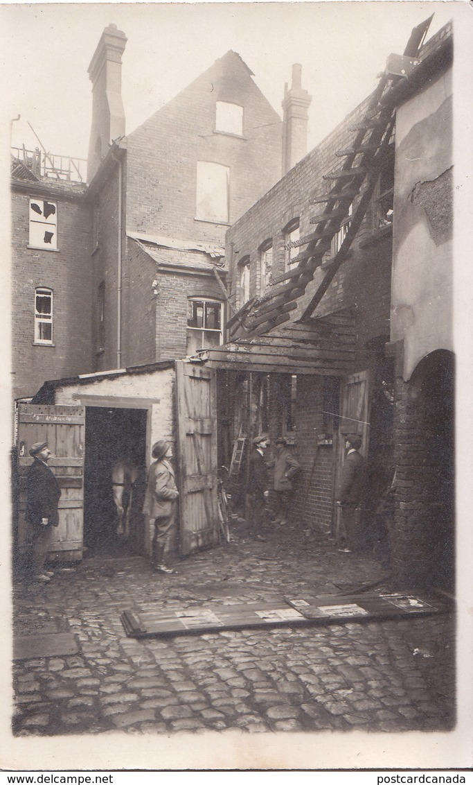 RPPC REAL PHOTO POSTCARD FOLKESTONE SCENE - Folkestone