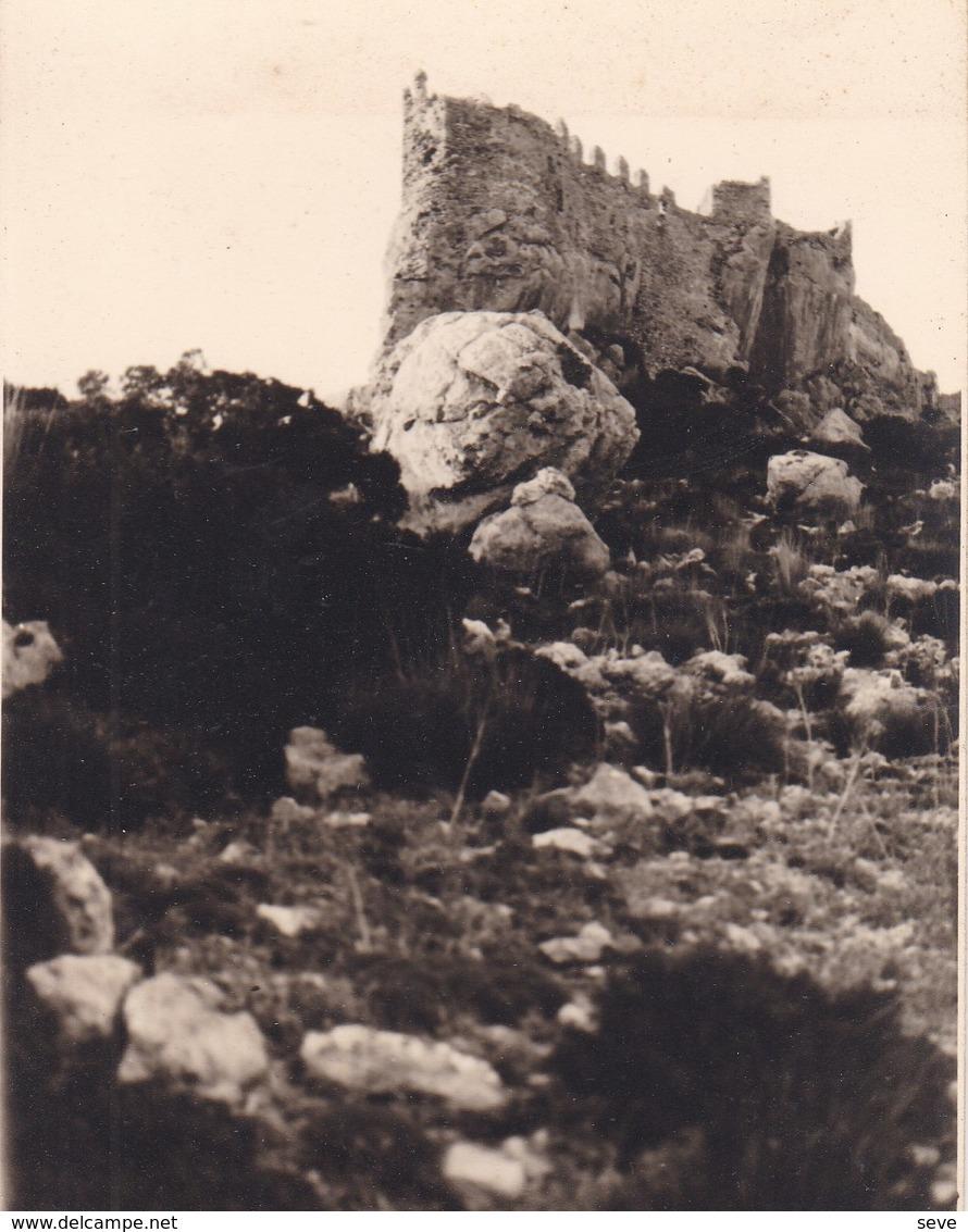 MAJORQUE CASTELL DEL REY 1930 Photo Amateur Format Environ 7,5 Cm X 5,5 Cm - Lieux