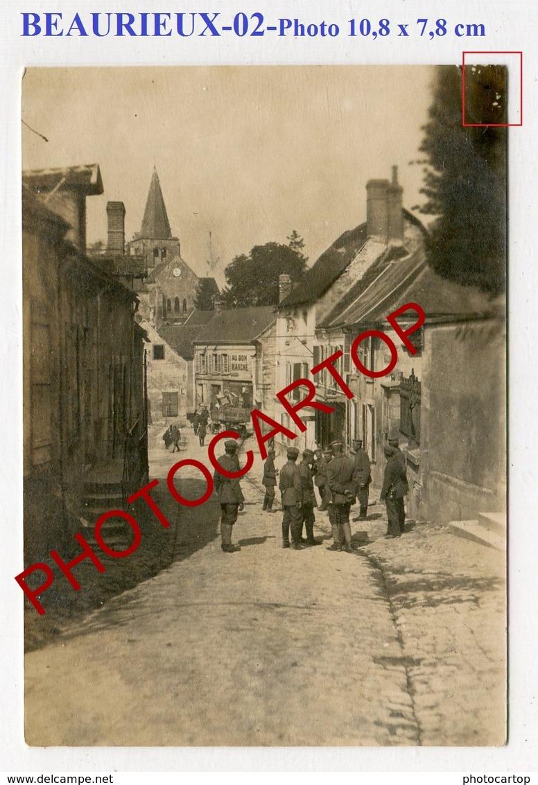 BEAURIEUX-PHOTO Allemande-GUERRE 14-18-1WK-France-02- - Autres Communes