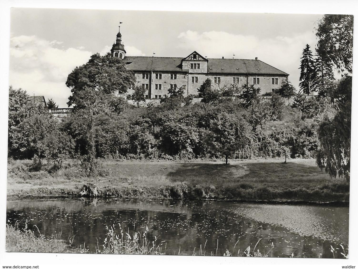 6080  SCHMALKALDEN  -  SCHLOSS WILHELMSBURG   1971 - Schmalkalden