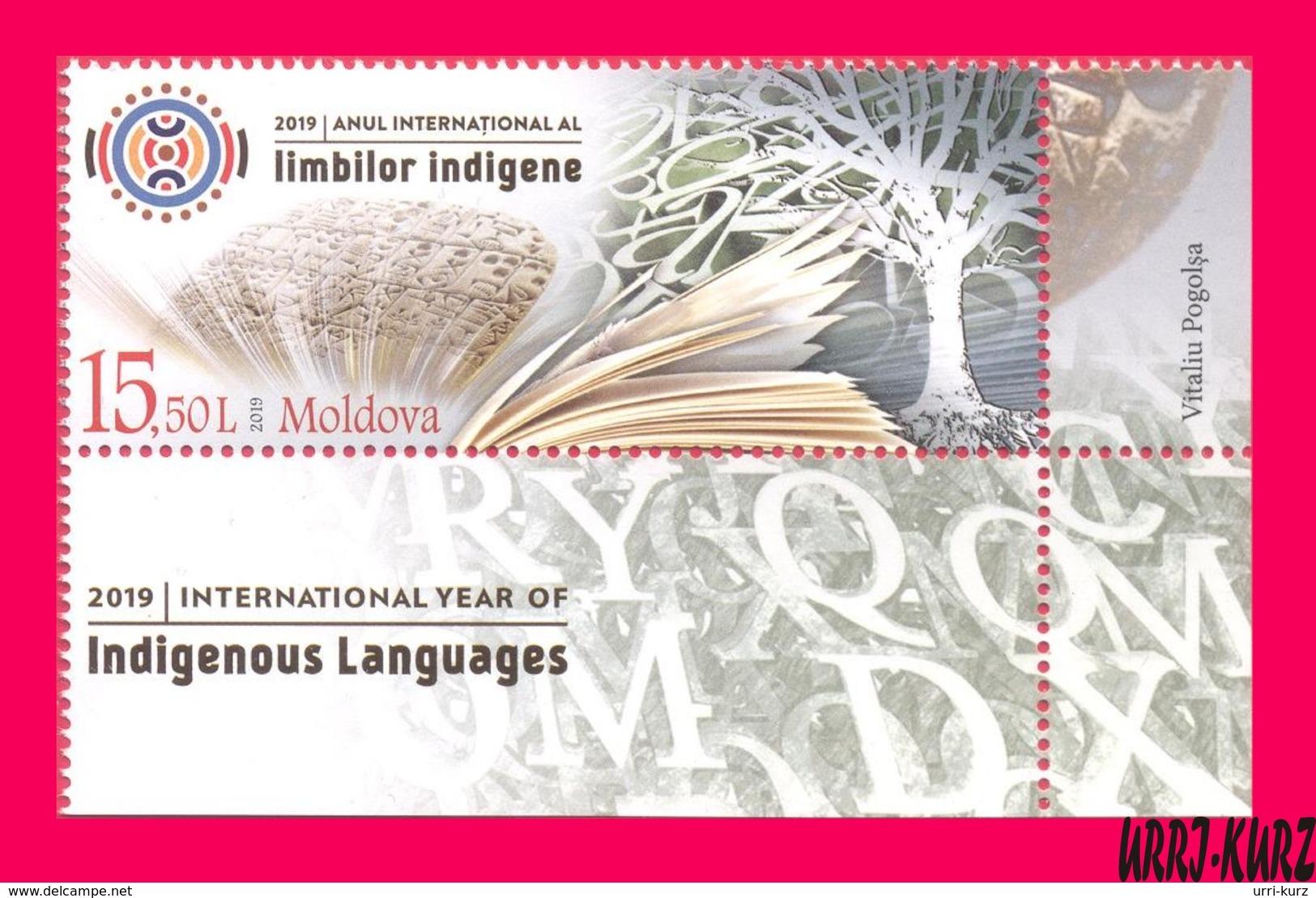 MOLDOVA 2019 International Year Of Indigenous Languages 1v Sc1036 Mi1101 MNH - Languages