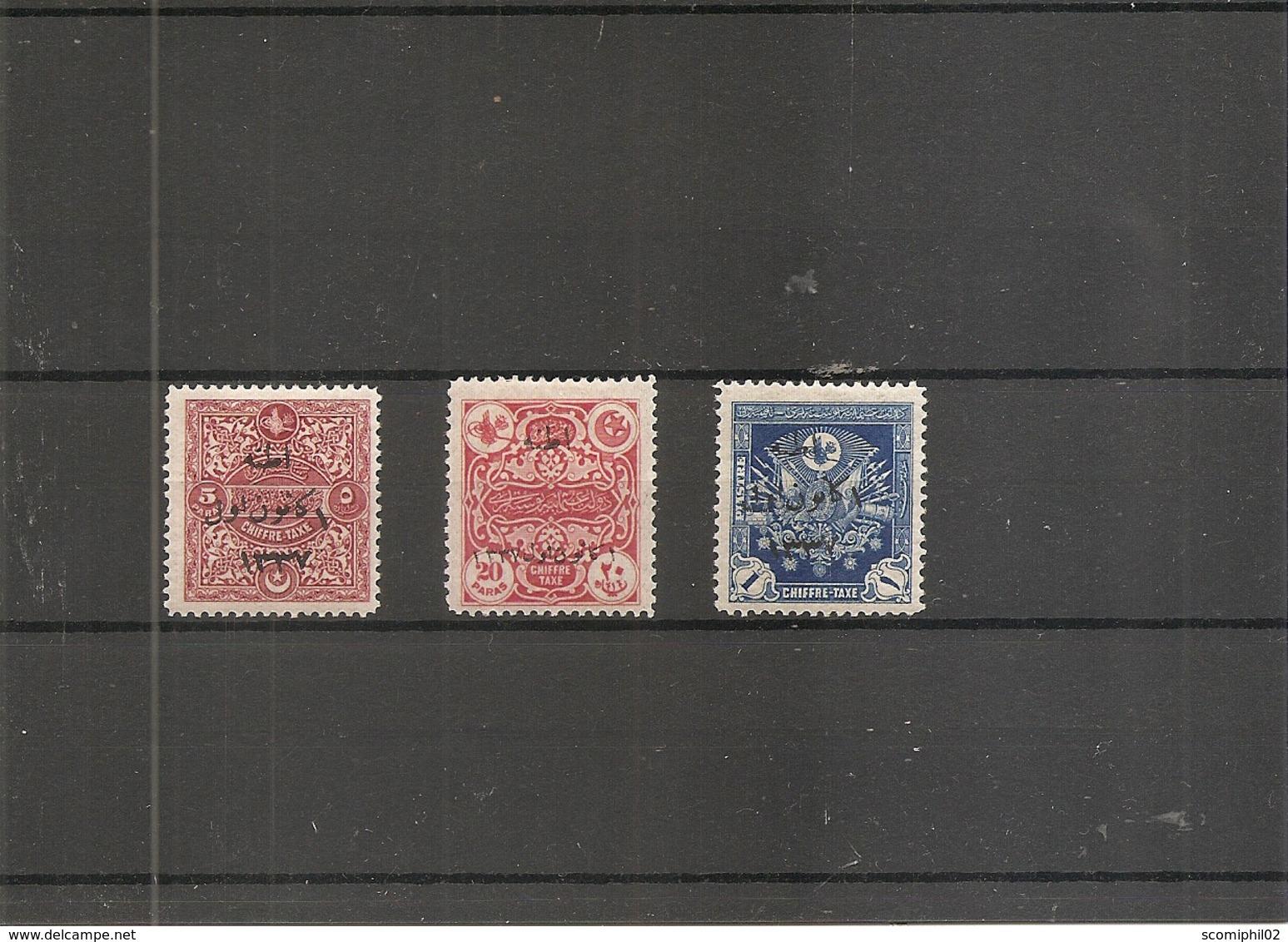 Turquie ( 640/642 X -MH) - Nuevos