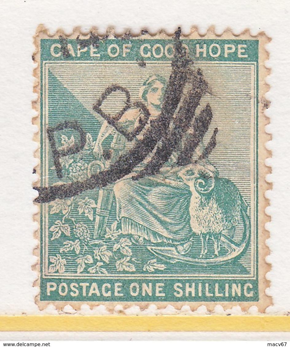 Cape Of Good Hope 51  (o)   Wmk 16 Fancy Anchor - South Africa (...-1961)