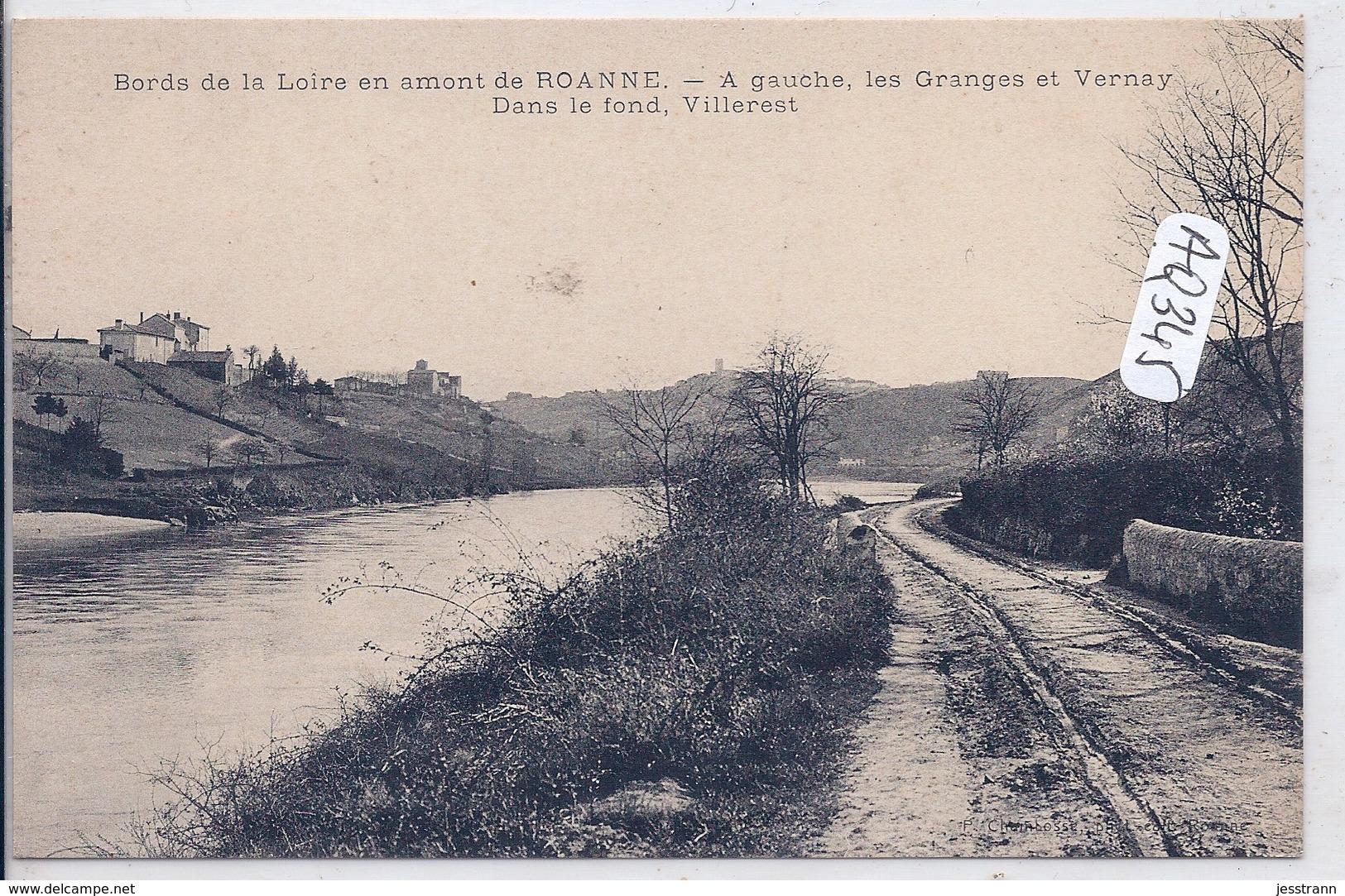 LES GRANGES- LA LOIRE PRES DE VERNAY ET VILLEREST - Autres Communes