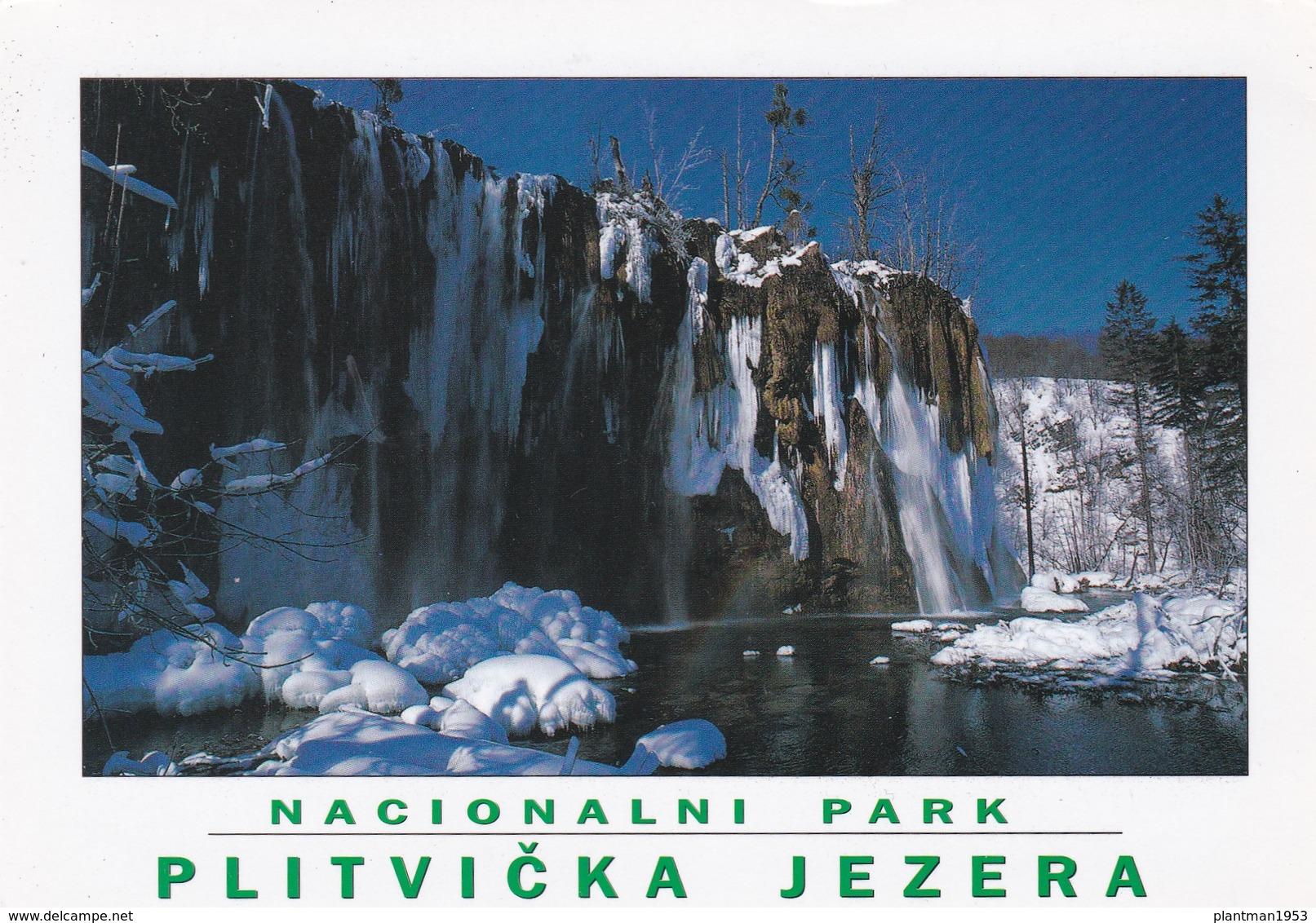 Modern Post Card Of Nacionalni Park,Plitvička Jezera N.P., Croatia,L53. - Croatia