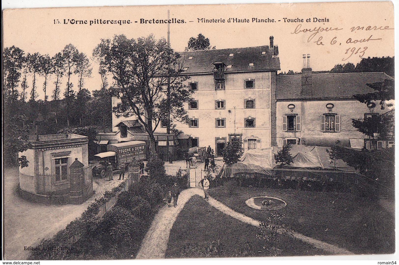 BRETONCELLES-MINOTERIE D'HAUTE PLANCHE-TOUCHE ET DENIS - France