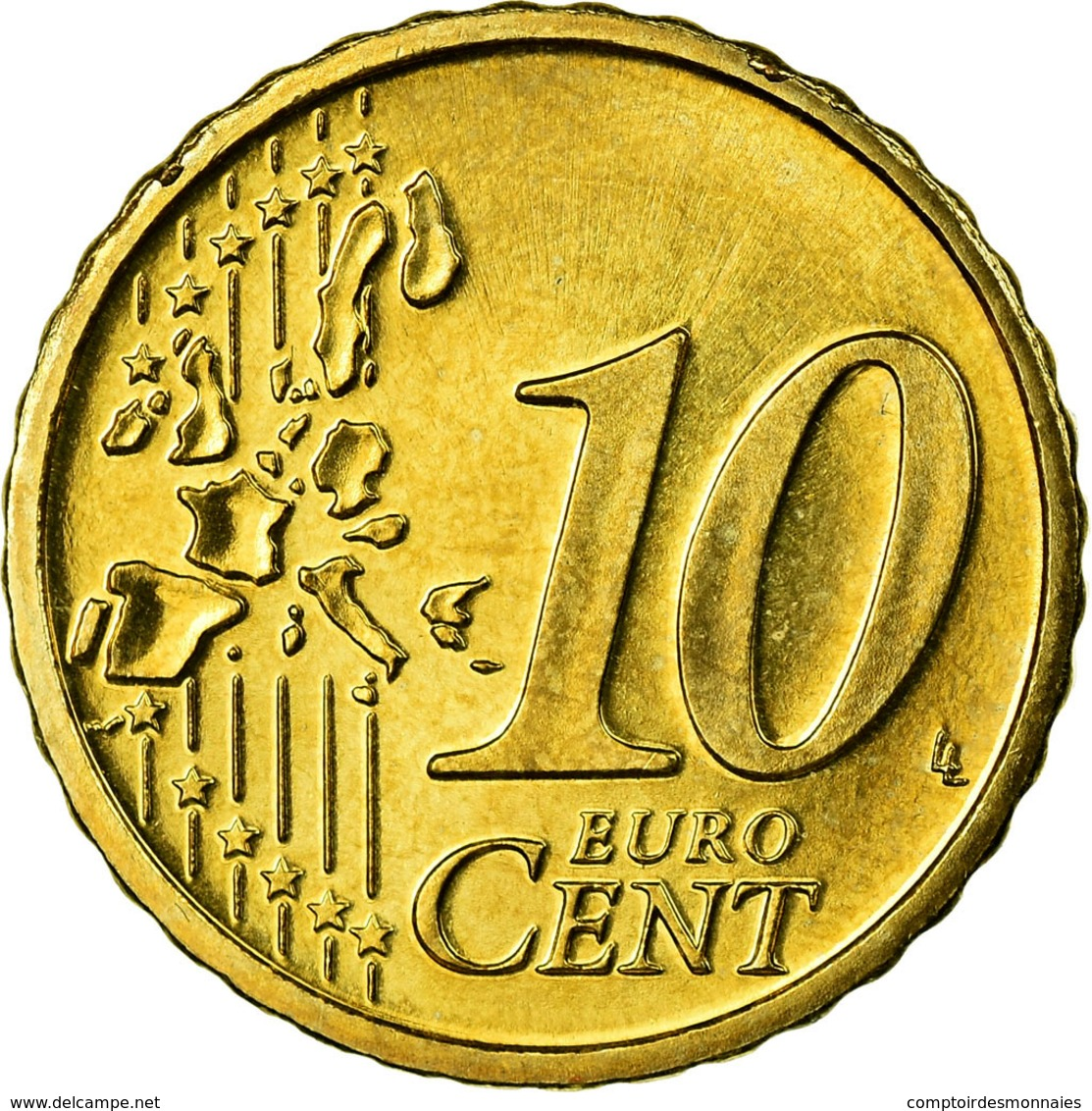 Autriche, 10 Euro Cent, 2007, SPL, Laiton, KM:3085 - Autriche