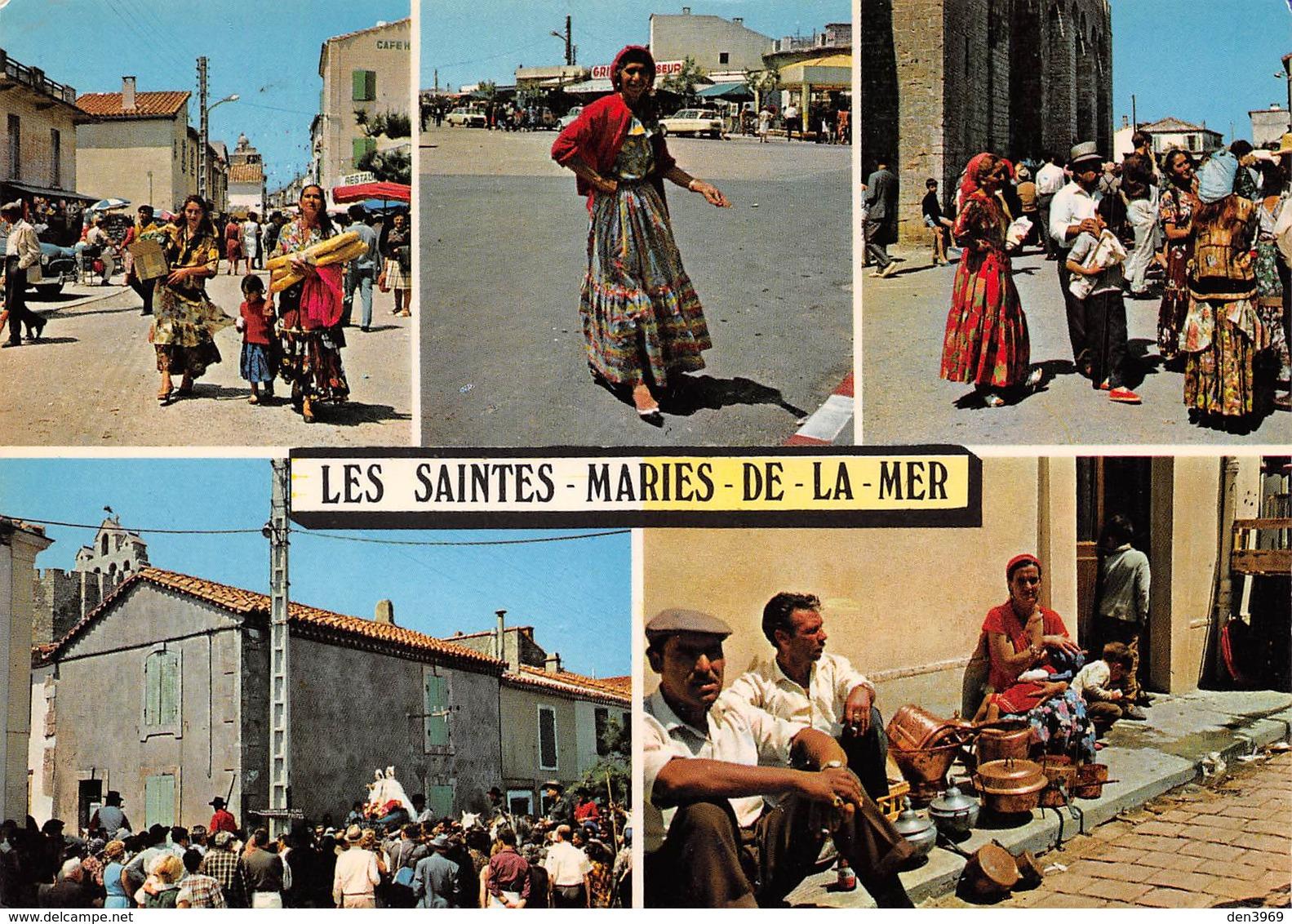 Les SAINTES-MARIES-de-la-MER - Les Gitans - Souvenir De La Procession Des Saintes - Salomé Et Jacobé - Saintes Maries De La Mer