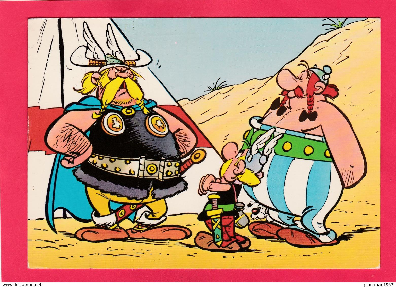 Modern Post Card Of Asterix Und Obelix Treffen Mit Maulaf, Germany,L54. - Germany