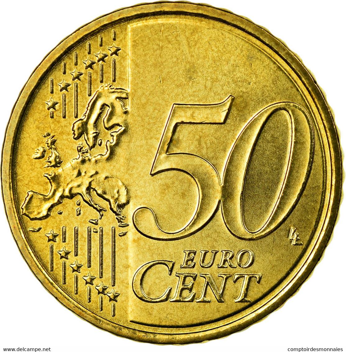Autriche, 50 Euro Cent, 2008, SPL, Laiton, KM:3141 - Autriche