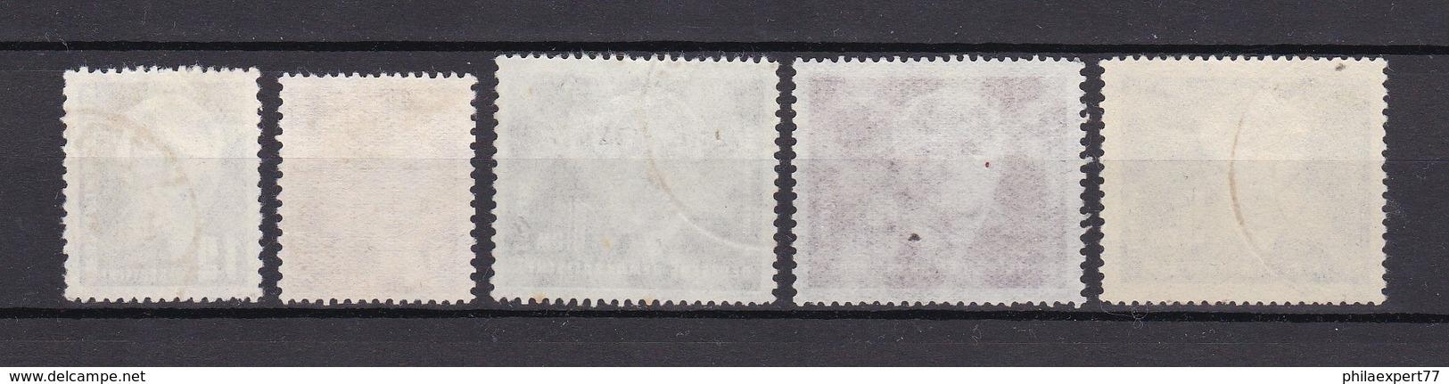 DDR - 1950/52 - Michel Nr. 251/255 - 70 Euro - DDR