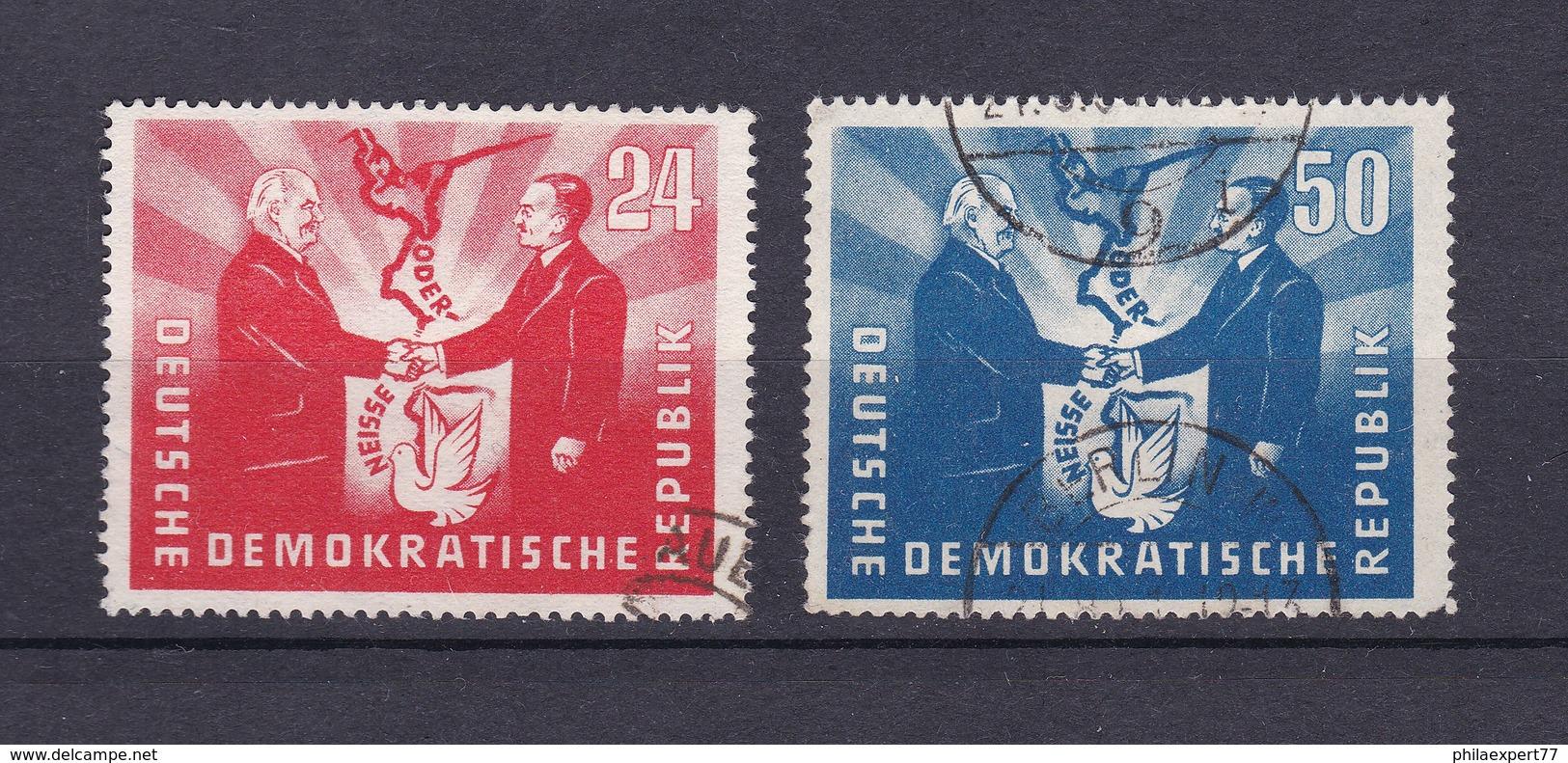 DDR - 1951 - Michel Nr. 284/285 - 65 Euro - Gebraucht