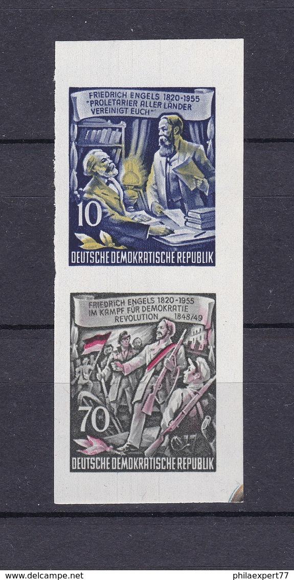 DDR - 1955 - Michel Nr. 486+490 ZD - 25 Euro - DDR
