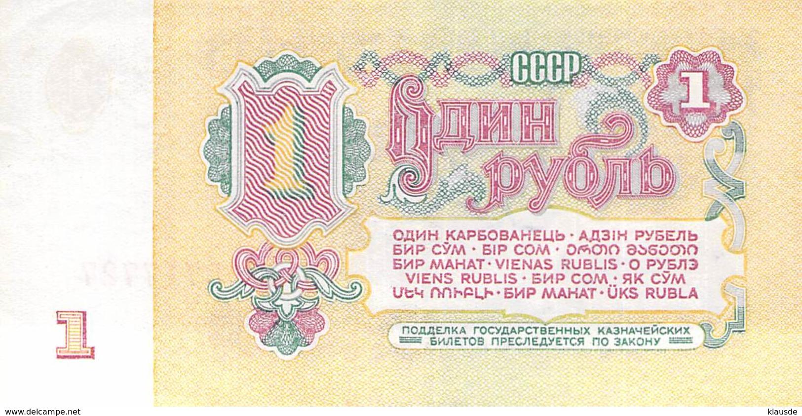 1 Rubel Rußland 1961 AU/EF (II) - Russland