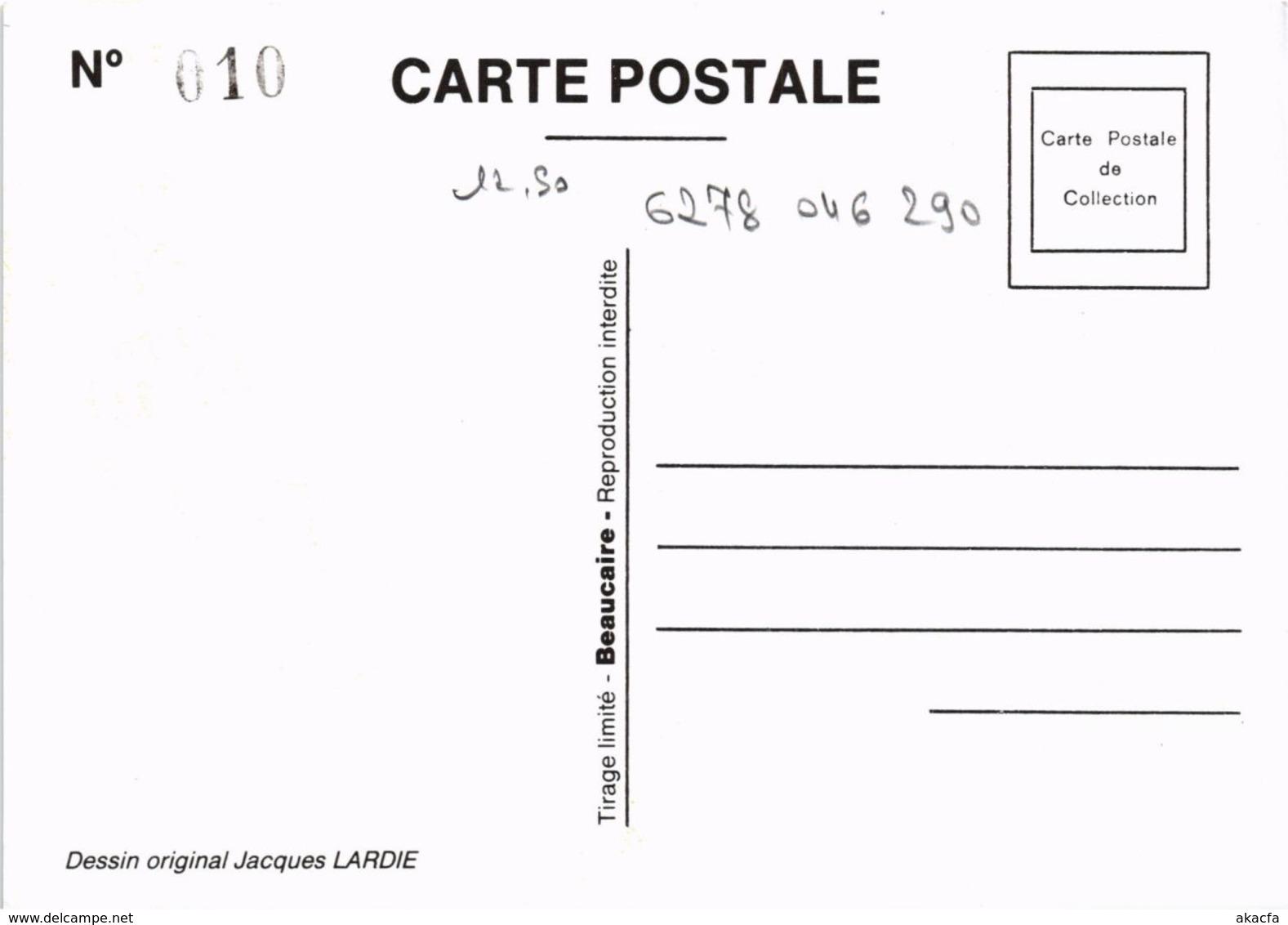 CPM LARDIE Les Princes Du Royal Secret No. 32 FREEMASONRY (861274) - Lardie