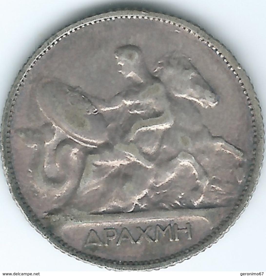 Greece - George I - 1910 - Drachme - KM60 - Greece