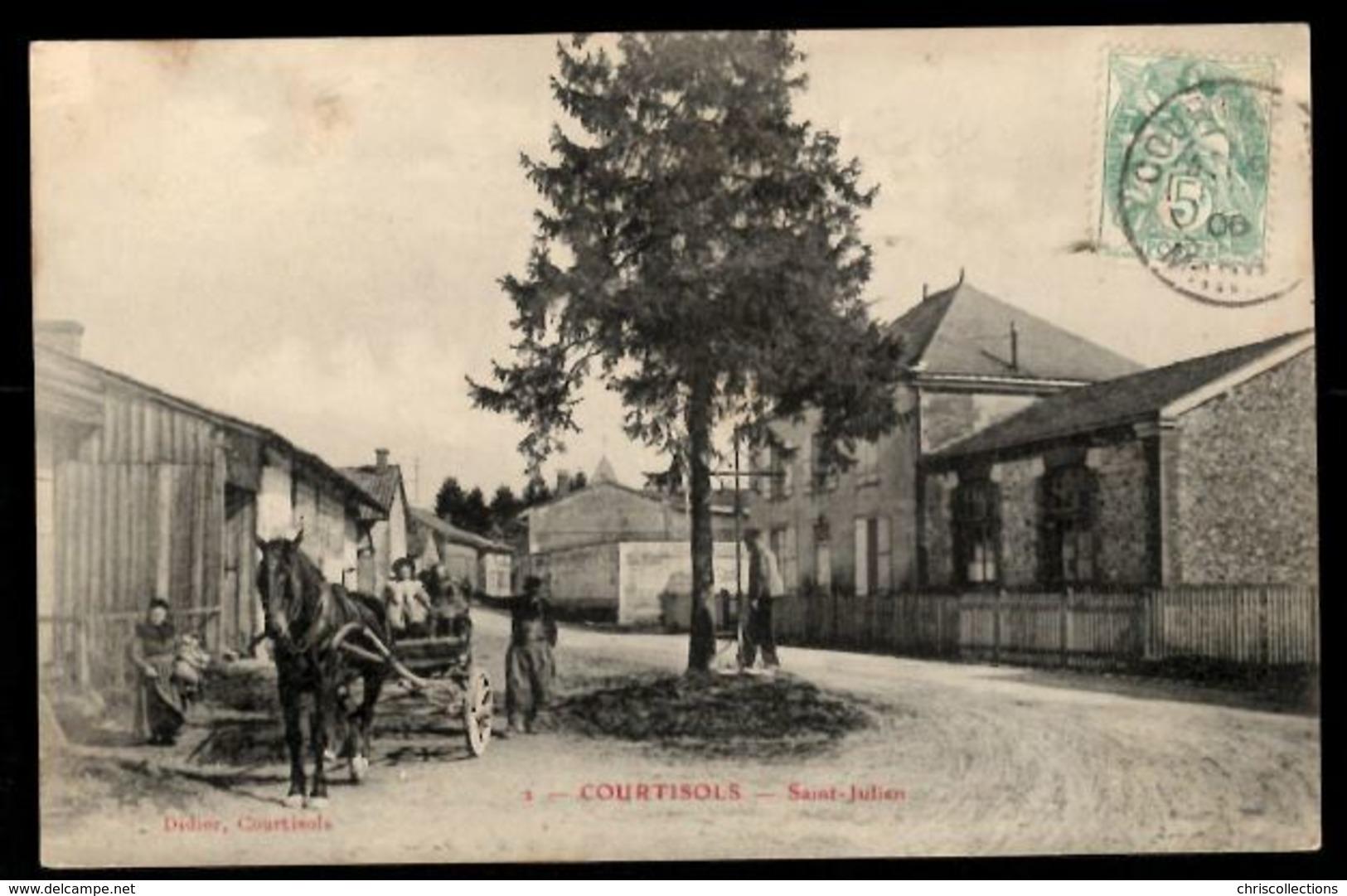 51 - COURTISOLS (Marne) - Saint Julien - Courtisols