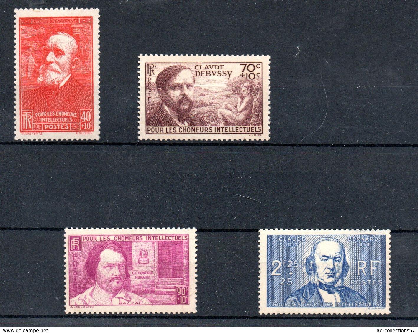 Série N 436 à 439 / NEUFS **  /  Côte 55 € - Unused Stamps