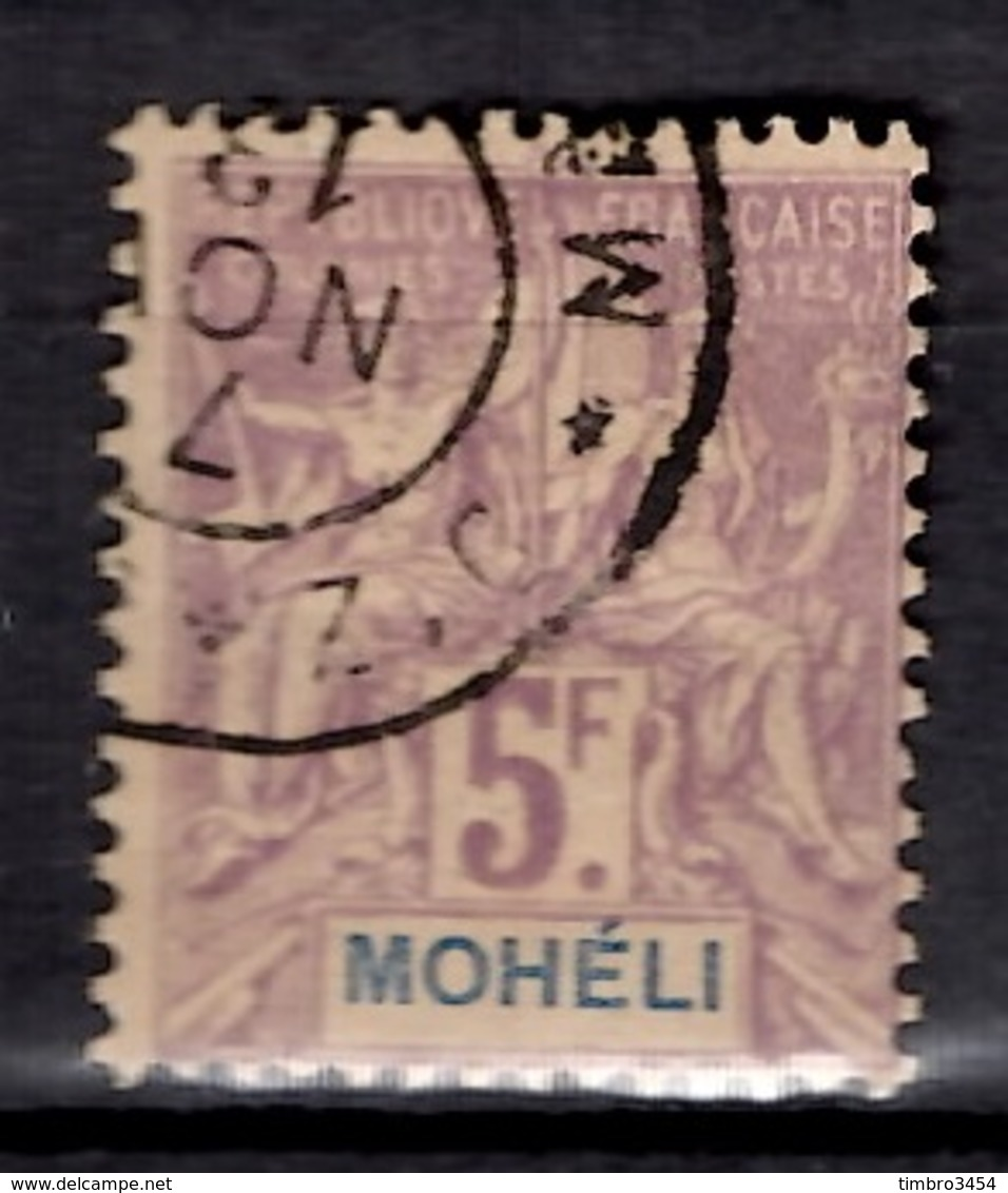 Mohéli YT N° 16 Oblitéré. B/TB. A Saisir! - Mohéli (1906-1912)