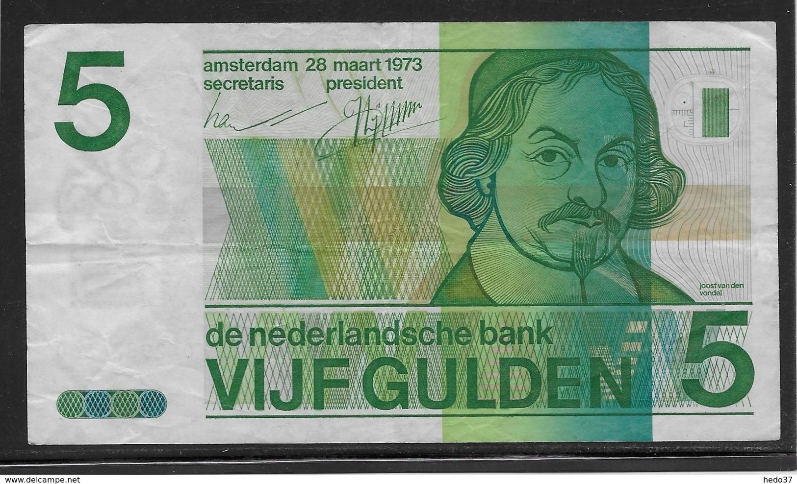 Pays Bas - 5 Gulden - Pick N°95 - TTB - 5 Florín Holandés (gulden)