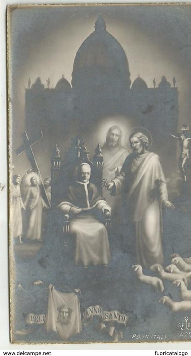 SANTINO  SERIE SPES 425 ANNO SANTO 1933 - Santini