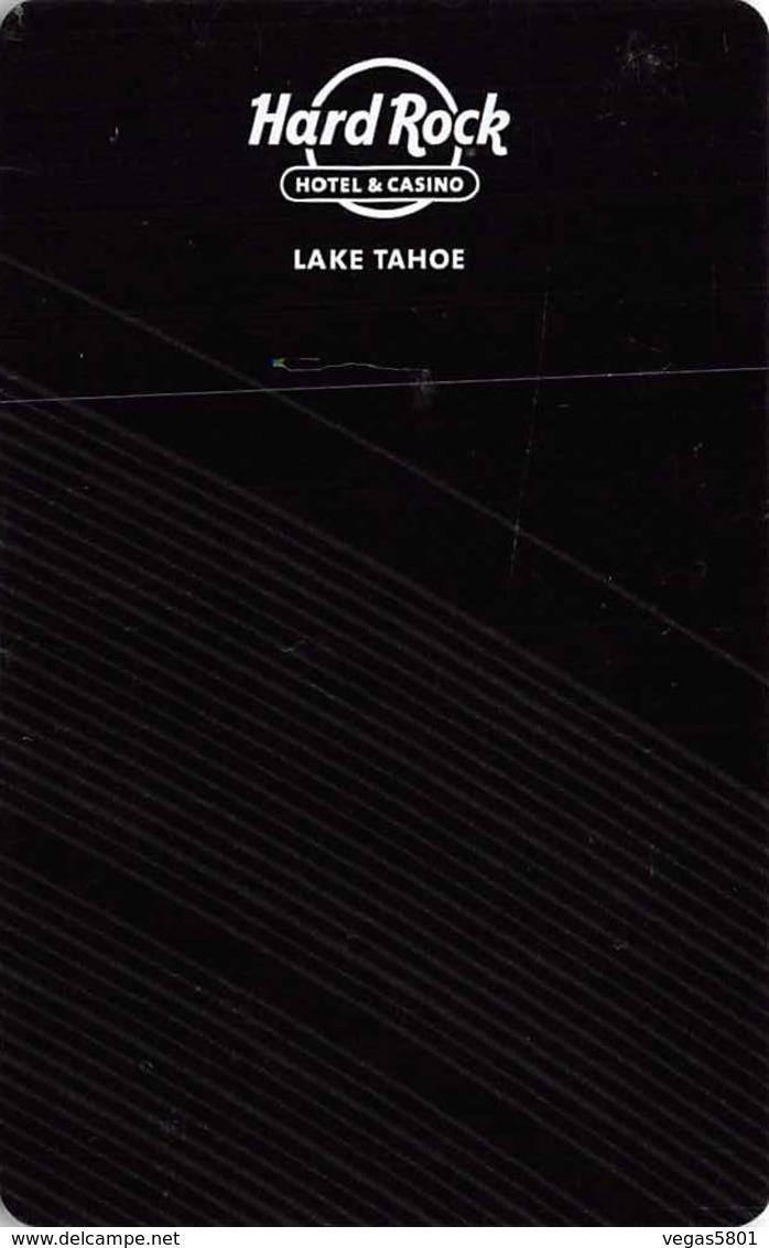 HARD ROCK -  Hotel Casino Lake Tahoe - Hotel Room Key Card, Hotelkarte, Schlüsselkarte, Clé De L'Hôtel - Hotelkarten