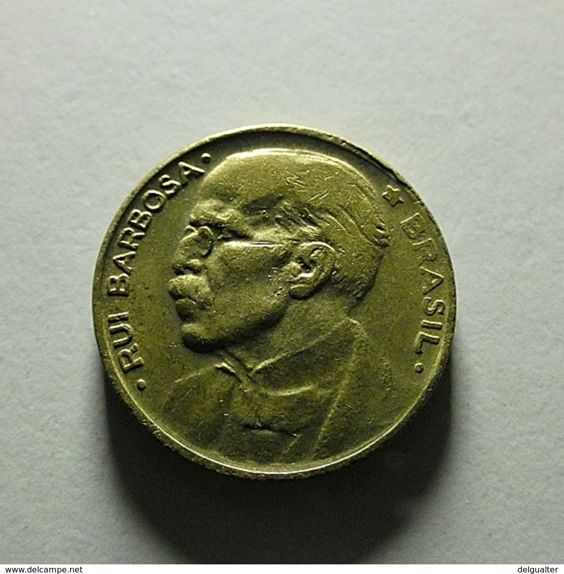 Brazil 20 Centavos 1951 With Defect - Brésil