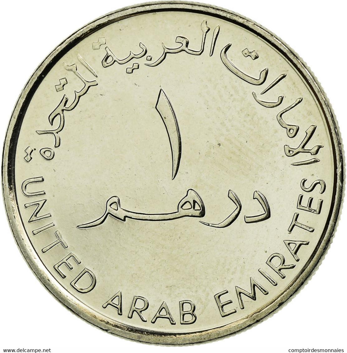 Monnaie, United Arab Emirates, Dirham, 2007/AH1428, British Royal Mint, SPL - Emirats Arabes Unis