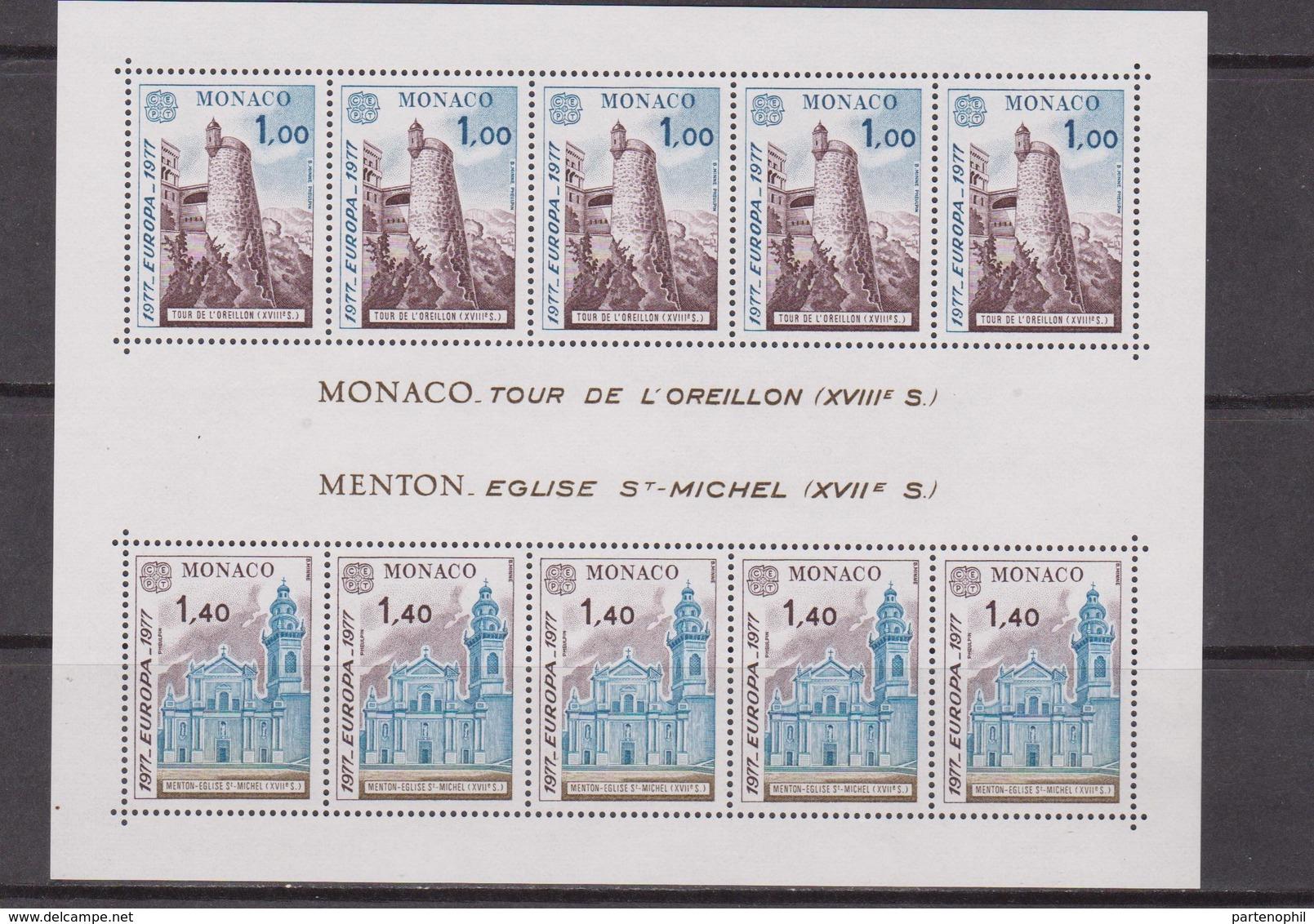 MONACO -  1977 Europa Cept - Europa-CEPT