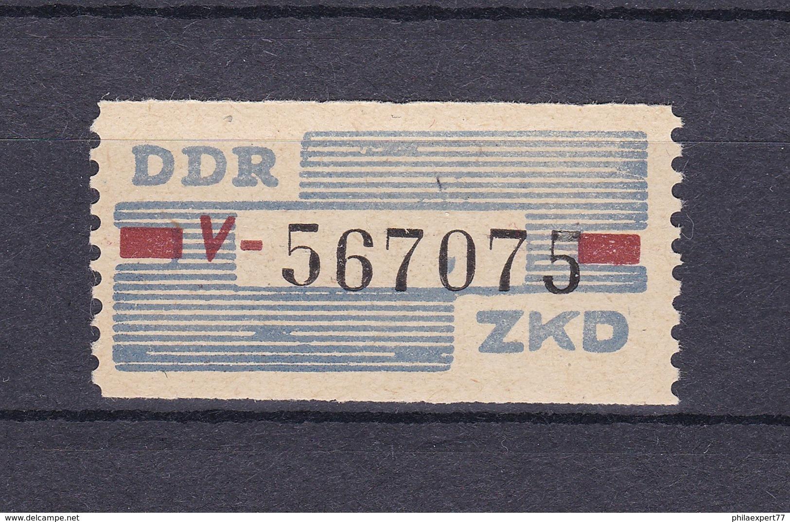 DDR - 1960 - Dienstmarken B - Michel Nr. IV - Dienstpost