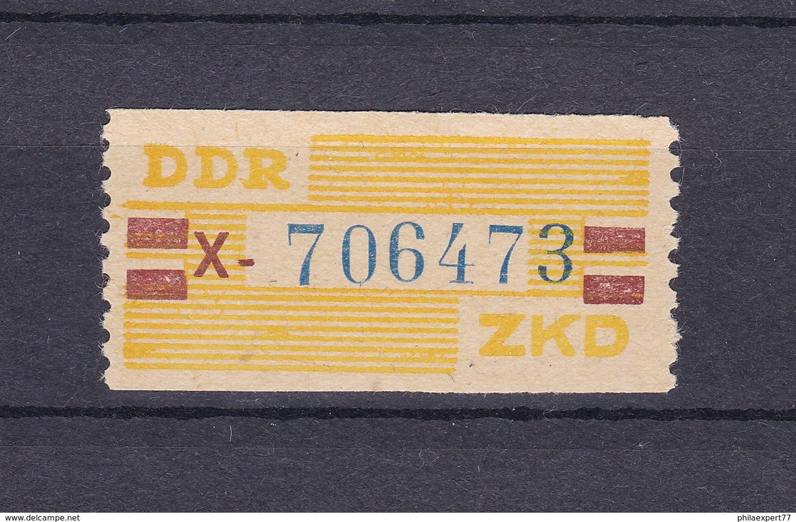 DDR - 1959 - Dienstmarken B - Michel Nr. 25 X - DDR