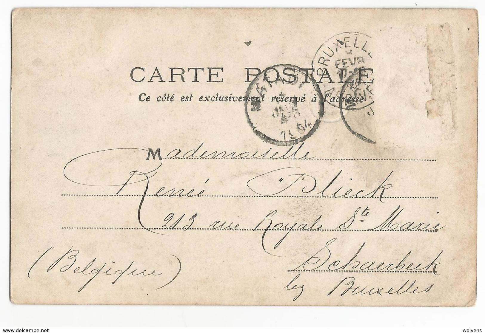 Belgisch Congo Belge Expédition D'ivoire à La Gare De Kinshasa CPA PK - Congo Belge - Autres