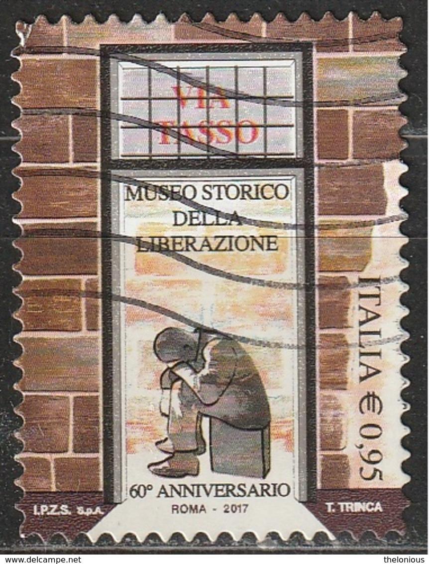 Italia 2017 - 0,95 Cent. Museo Storico Della Liberazione - 2011-...: Usati