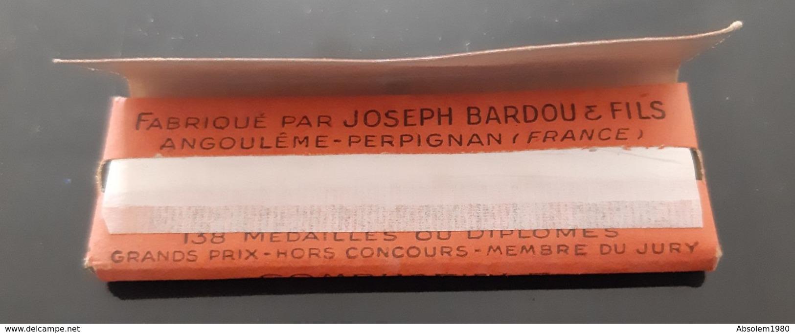 ANCIEN ROULEAU PAPIER A CIGARETTES LE NIL JOSEPH BARDOU & FILS GOMME ANTIQUE ROLLING PAPER TABAC TOBACCO TABACOLOGIE - Cigarettes - Accessoires