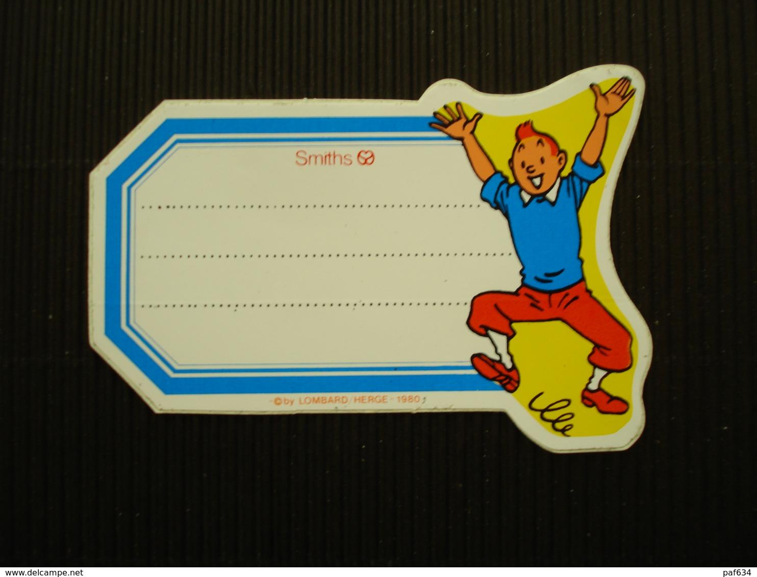 Sticker Kuifje - Other