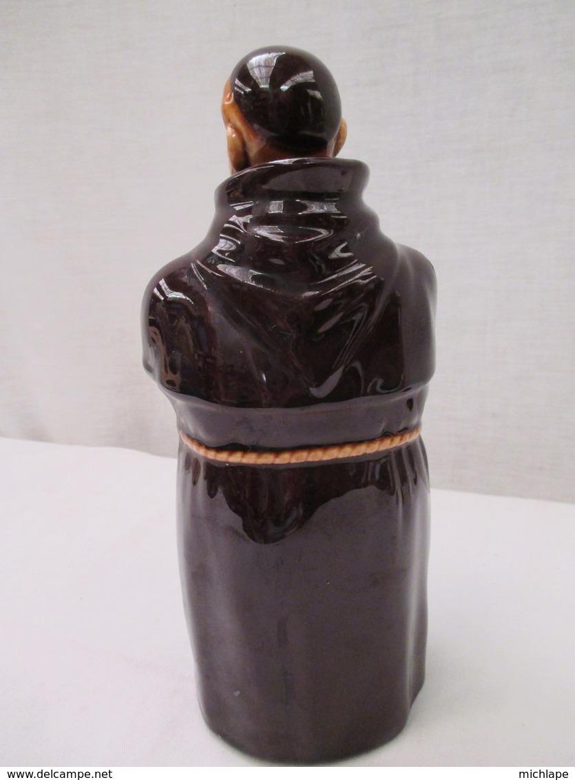Bouteille  Vide  Representant Un Moine  H 24 Cm  75 A 100 Cl Environ - Other Bottles