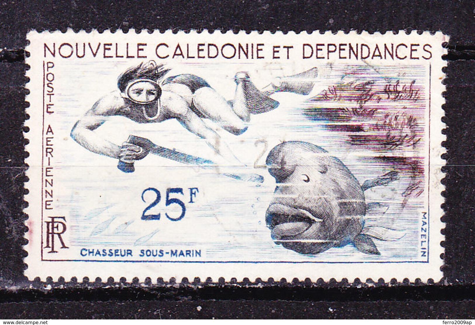 Nuova Caledonia 1955 Posta Aerea  Usato - Neukaledonien