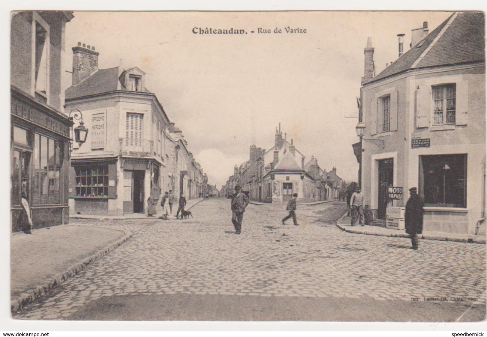 27006  Chateaudun -rue Varize - Ed Lausseda - Chateaudun