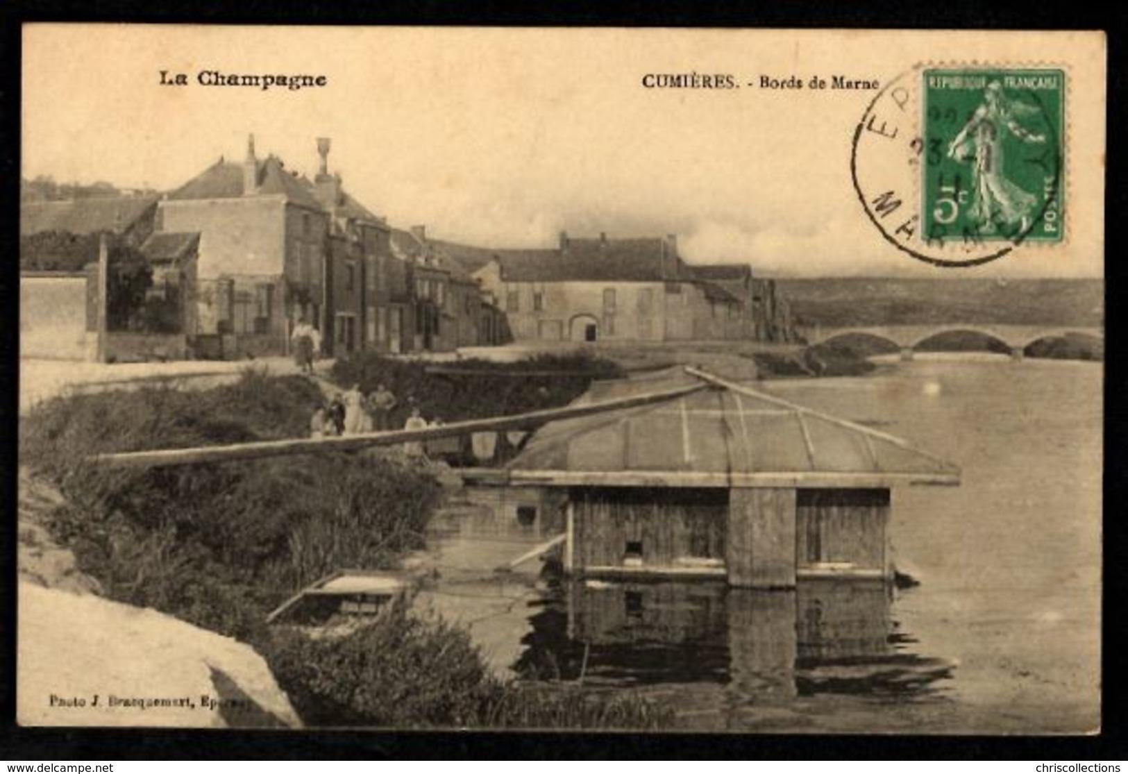 51 - CUMIERES - Bords De Marne - France