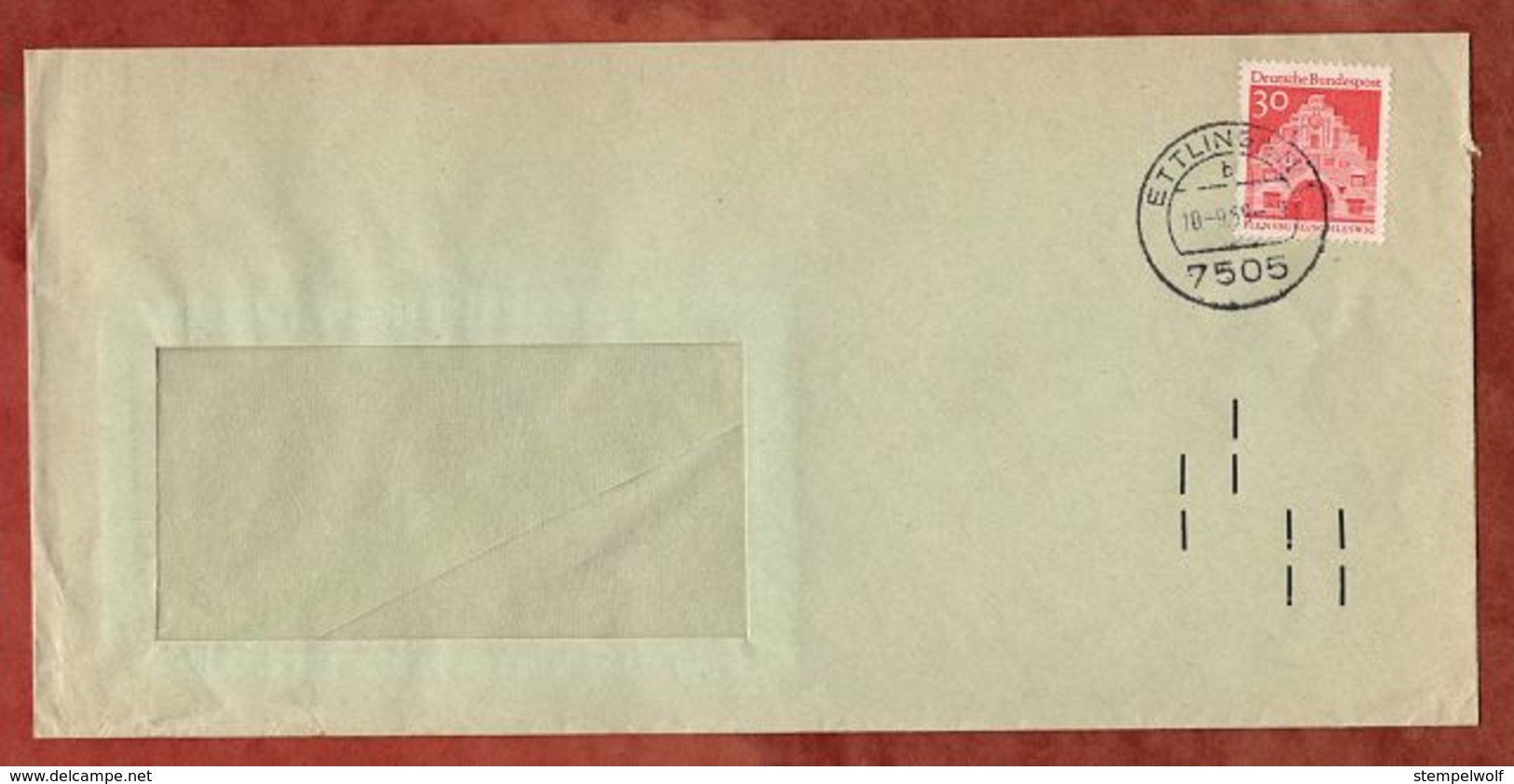 Brief, Flensburg, Ettlingen 1965 (74745) - Covers & Documents