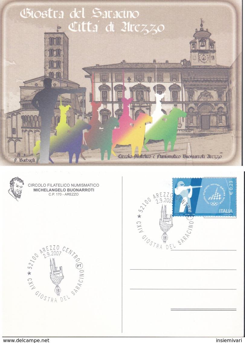 ITALIA 2007 - AREZZO:GIOSTRA DEL SARACINO.1 PEZZO N.v. - Manifestazioni