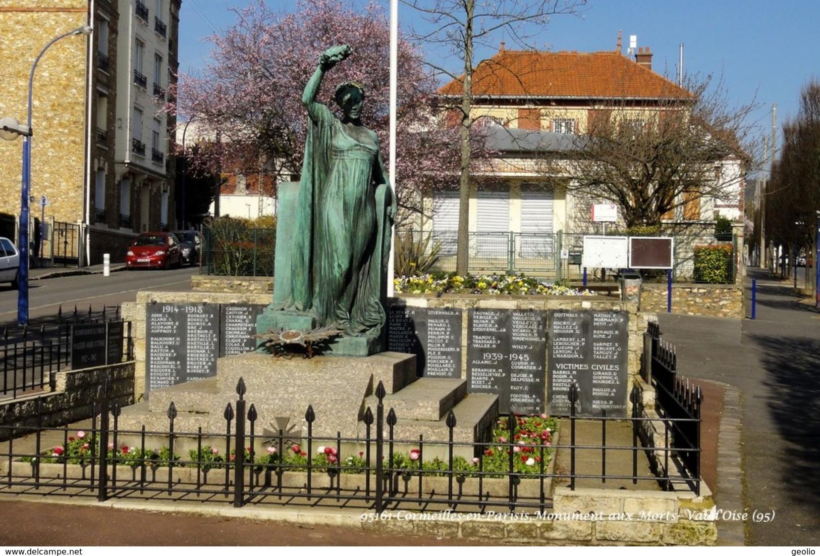 Cormeilles-en-Parisis (95)- Monument Aux Morts (Edition à Tirage Limité) - Cormeilles En Parisis