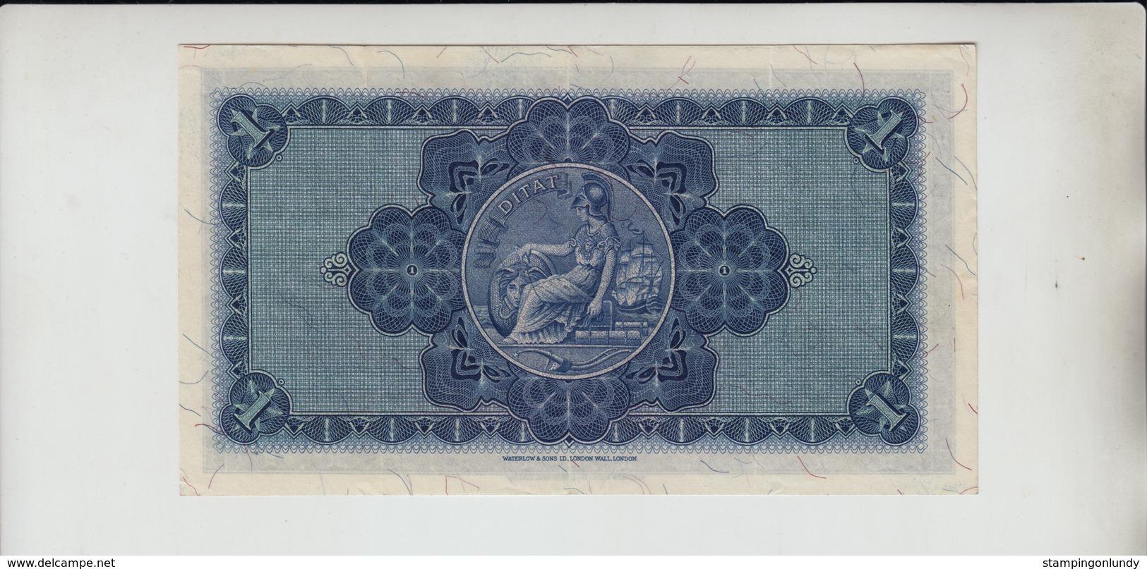 AB405. The British Linen Bank £1 Banknote 12th January 1955 #X/2 349510 FREE UK P+P - [ 3] Scotland