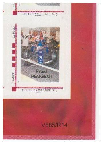 Doubs  -  Sochaux   - Peugeot   Prost - Peugeot 1999 - Francia