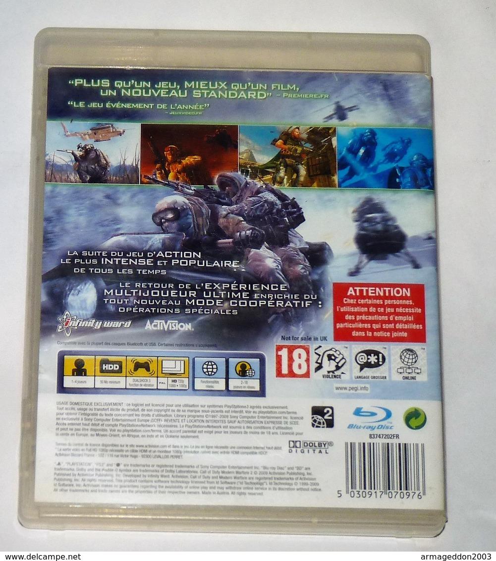 JEU PS3 CALL OF DUTY MODERN WAREFARE 2 / FONCTIONNE / FRANCE PAL - Sony PlayStation