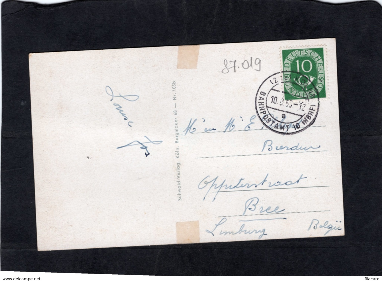 87019    Germania,  Koln Am Rhein,  Dom,  Westseite,  VG - Koeln