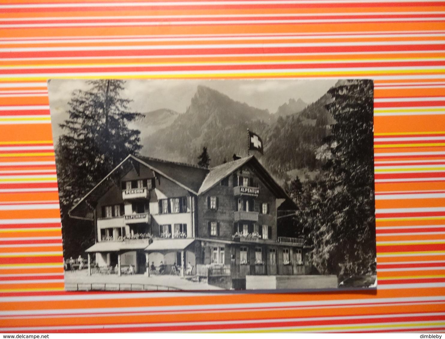 Hotel - Pension Alpenruh Kiental (5371) - BE Berne